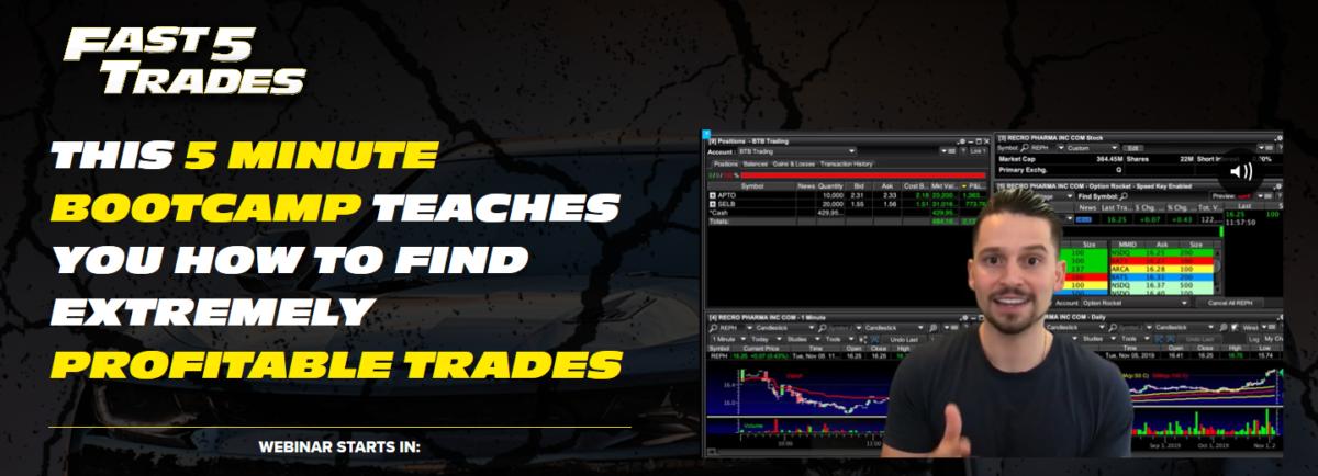 Kyle Dennis FAST 5 Trades Program | Embarrass The Hedge Funds With My Winning Strategy
