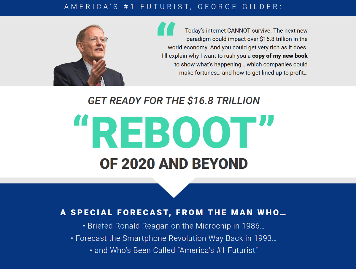 George Gilder 2020 Prediction Review