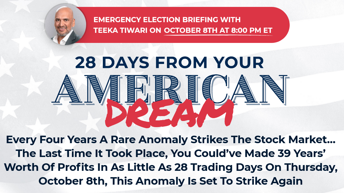 Teeka Tiwari's American Dream Summit: How to Rebuild Your American Dream