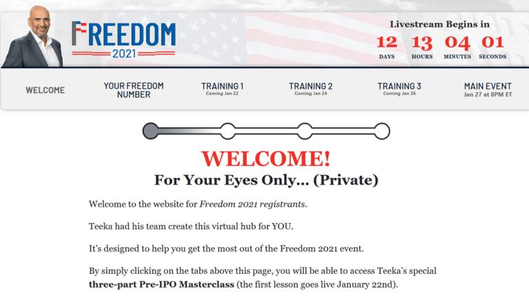 Teeka tiwari website