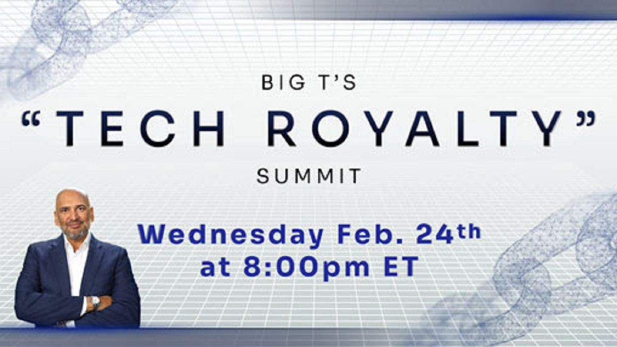 Teeka Tiwari's Tech Royalty Summit – Big T's #1 Pick?