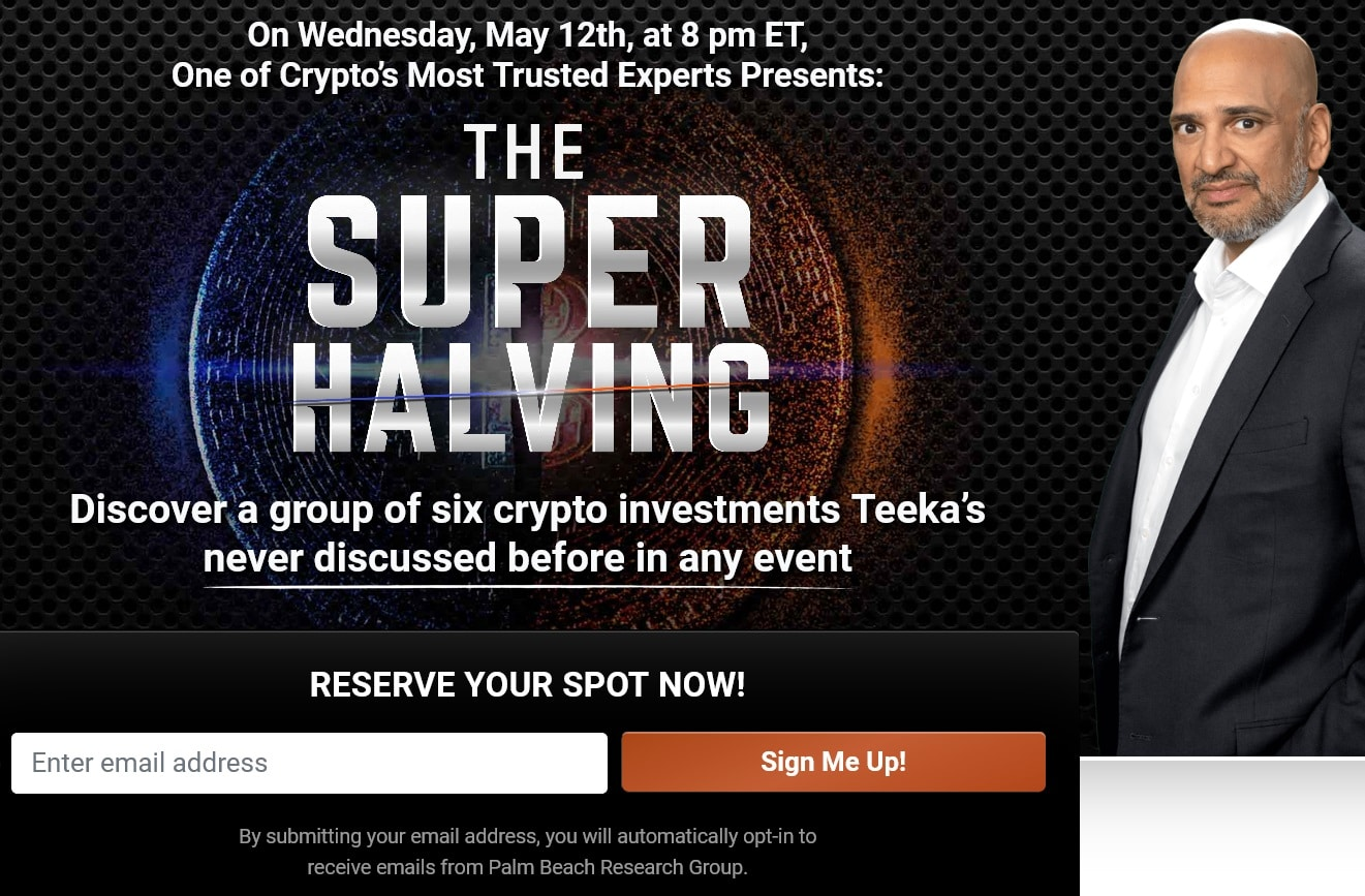 Teeka Tiwari The Super Halving Summit Review
