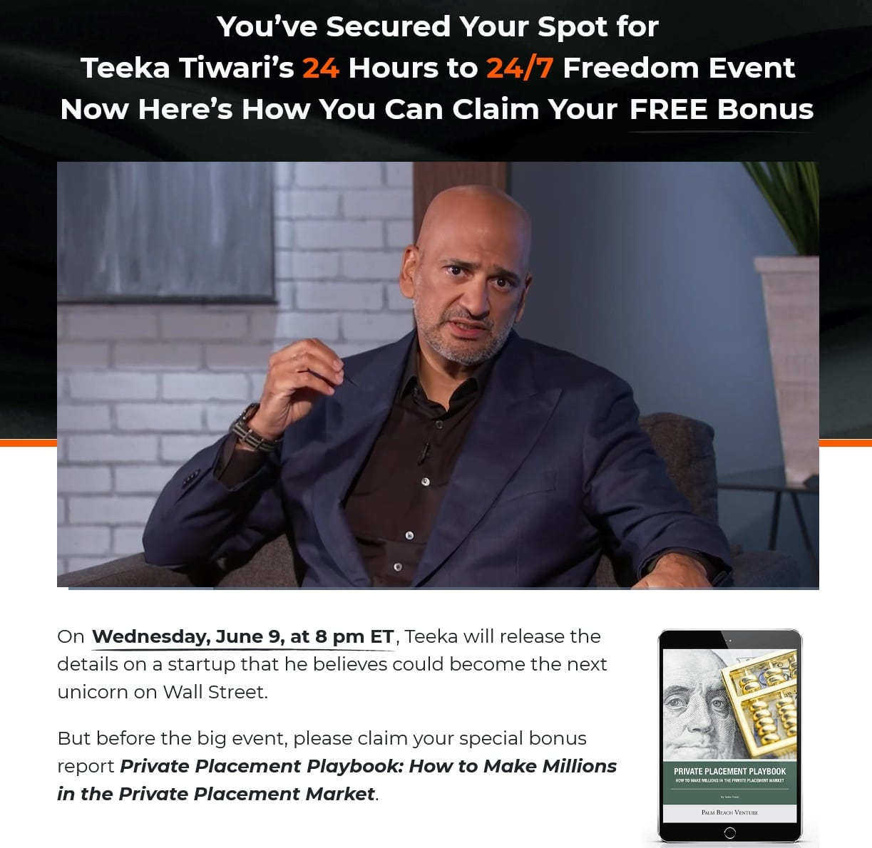 24 Hours to 24-7 Freedom with Teeka Tiwari