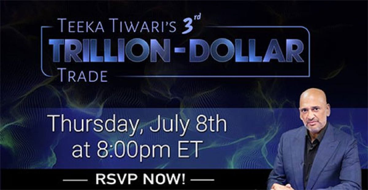 Teeka Tiwari's 3rd Trillion Dollar Trade Summit